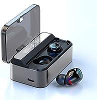【2020 Bluetooth5.1 瞬間接続】ZHITE 完全 ワイヤレスイヤホン Bluetooth LEDディスプレイ 蓋 を開けて瞬間自動ペアリング IPX7防水 Type-C 3000mAh充電ケース付き 両耳通話 ブルートゥース...