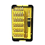 Screwdriver Set Bits,NINDEJIN Precision Magnetic Repair Tool Kit, 38 in 1 with 35 multi bit set,Professional and Flexible for iphone 8, 8 plus/ipad/ Smart phone/Computers/Tablets/PC/Game Console