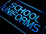 ADV PRO i452-b School Uniform Shop Display Lure Neon Light Sign