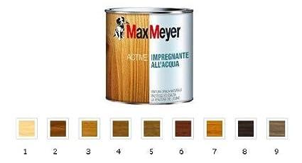 Colori Per Esterni Max Meyer : Max meyer active impregnante all acqua colore noce chiaro