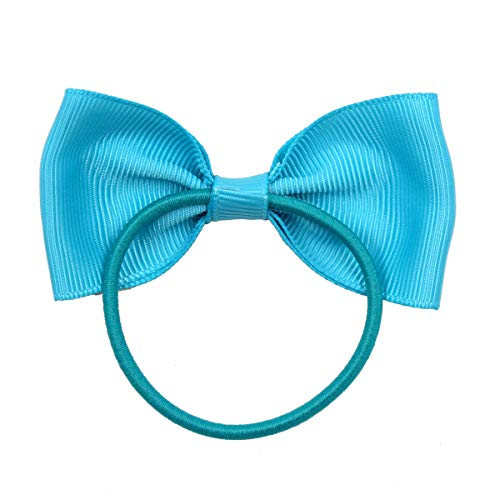 Boutique Hair Bows Tie Baby Girls Kids Children Rubber Band Ribbon Hair band