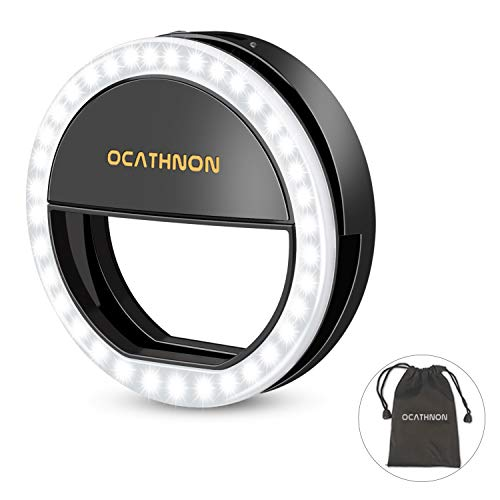Selfie Ring Light Clip On Selfie Led Camera Lights 3
