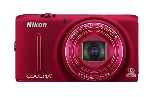 Nikon デジタルカメラ COOLPIX S9400 光学18倍ズーム 有効画素数1811万画素 ヴェルヴェットレッド S9400RD