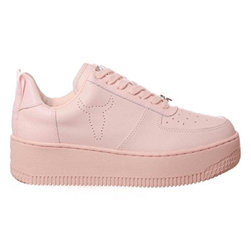 Velvet Pink a Racerr Sneaker Collo Windsor Donna Alto Smith w8IqZWWE