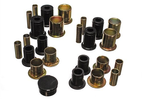 Energy Suspension Camaro Front Bushings - Energy Suspension 3-3106G Black Front Control Arm Bushing Set, 1980-81 Camaro