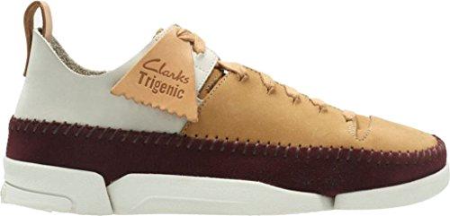 Clarks Womens Trigenic Flex Fudge Combination Nubuck