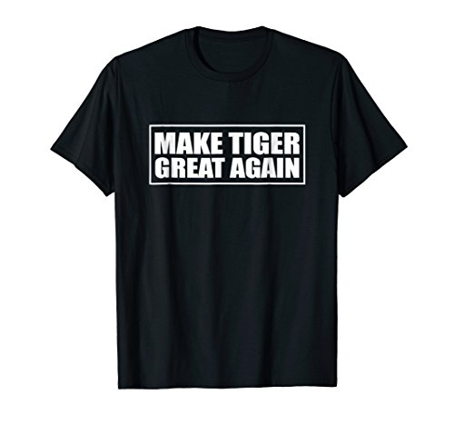 Make Tiger Great Again T-Shirt | Green Golf Master Tee