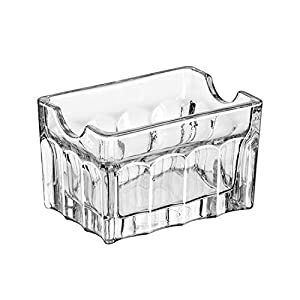 Libbey 5258 Gibraltar Glass Sugar Packet Holder - 24 / CS by Libbey