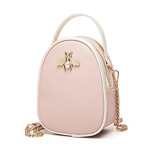 Crossbody Women Bag Wild Shoulder Fashion Pink Mini Bag Party Pack Day Handbag Single Bags 81Tqw