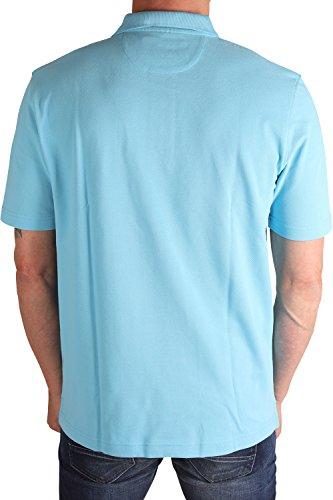 MARVELiS 6406-72-10 Pique Polo T-Shirt hellblau