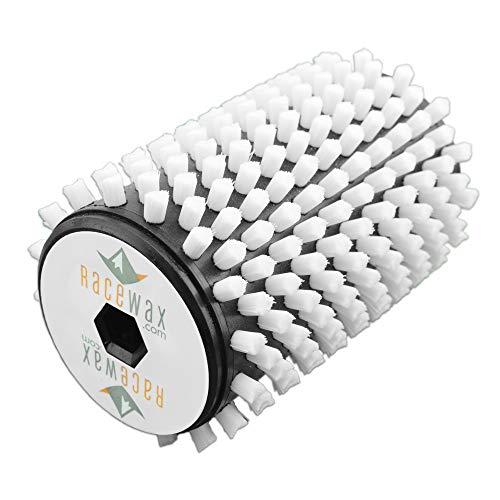 RaceWax White Nylon Ski Roto Brush 100 mm