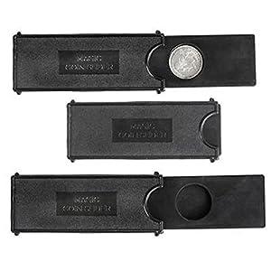 """4"""" Magic Coin Case, Black. 24 pieces."""