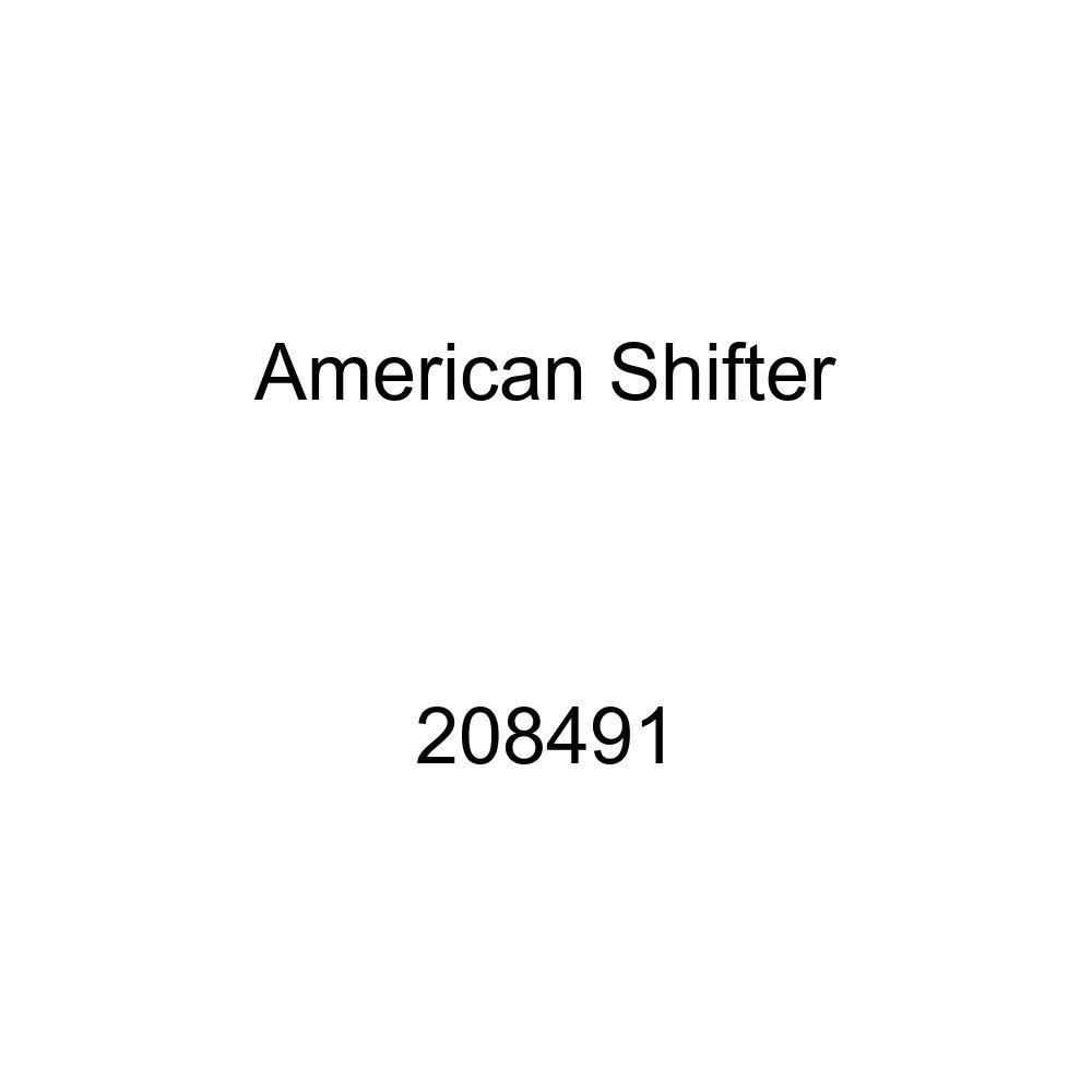 American Shifter 208491 Green Retro Metal Flake Shift Knob with M16 x 1.5 Insert Black Shift Pattern 20n