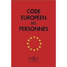 europeen des personnes 1996