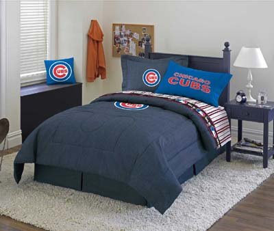 hicago Cubs Full Sheet Set (Dan River Pillowcase)