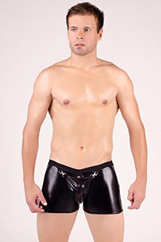 Herren Boxershorts sexy Wet-Look von Andalea.