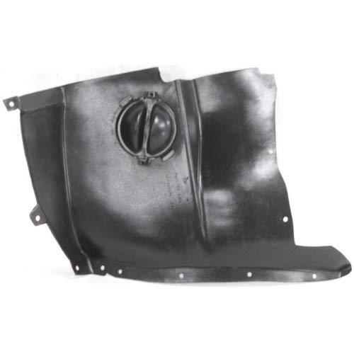 Garage-Pro Fender Liner for CHEVROLET CORVETTE 05-13 FRONT LH Front Section Base Model