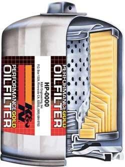 (K&N FILTERS HP-2004 Engine Oil Filter)