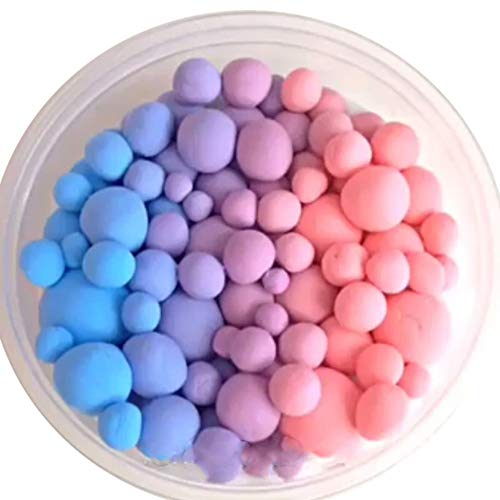Wffo 60ML Beautiful Color Mixing Cloud Slime Putty Scented Stress Kids Clay Toy (Colorful)