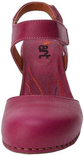 Magenta Vaaleanpunainen Art Sandaalit Avoin Tunnen 1281 magenta Naisten Memphis zfaz8Pq