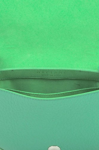 Orciani Borsa A Spalla Donna MCGLBRE03084E Pelle Verde