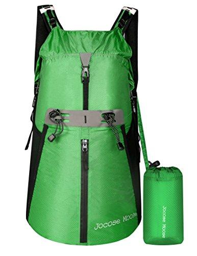 Jocose Moose 35L Waterproof Hiking Backpack - Lightweight Packable Travel  Foldable Daypack 7dfd92ecd6f1
