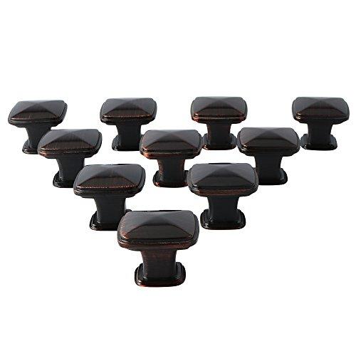 Alise Cabinet Hardware Round Knob Euro Style Bar Handle Pull - 1-1/4