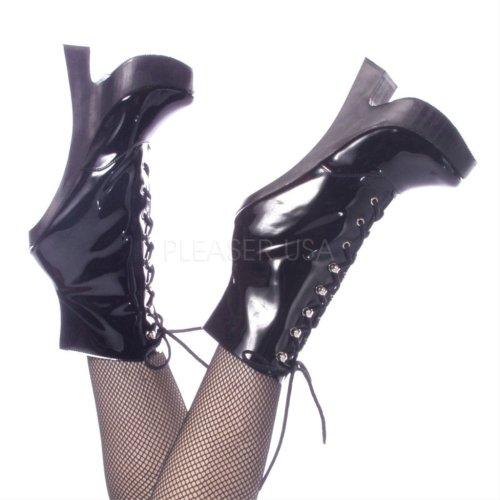 Devious - Botas mujer negro - black patent