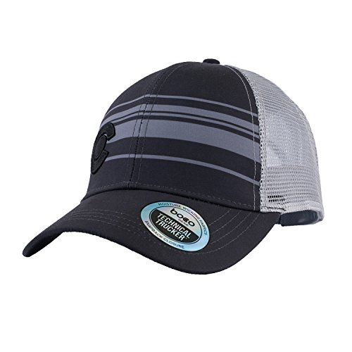 BOCO Gear Technical Trucker - Colorado - Black with Grey Stripes by BOCO Gear