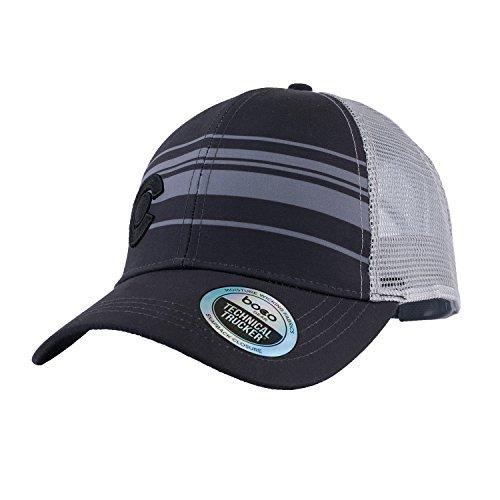 BOCO Gear Technical Trucker - Colorado - Black with Grey Stripes by BOCO Gear