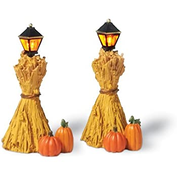 this item department 56 corn stalk lanterns set of 2 - Halloween Corn Stalks