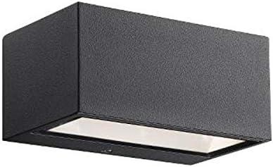 Nordlux LED Außenleuchte NENE LED Wandleuchte, 6W LED, 3000K, 480lm, IP54, schwarz EEK: A