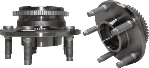 Brand New (Both) Front Wheel Hub and Bearing Assembly 1994-04 Ford Mustang 5 Lug W/ ABS (Pair) 513115 x2