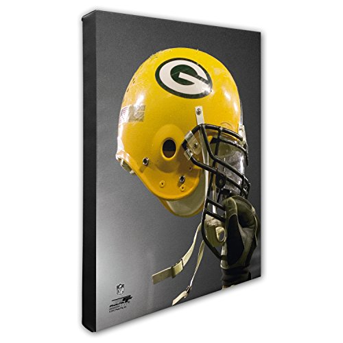 """Photo File NFL Green Bay Packers Beautiful Gallery Quality, High Resolution Canvas, 16"""" x 20"""" from Photo File"""