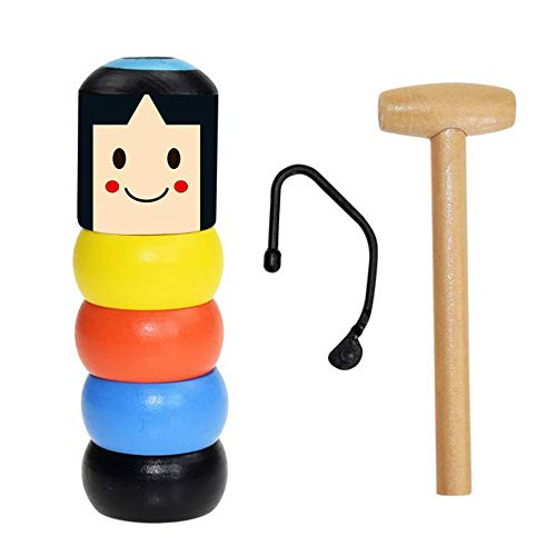 98K Unbreakable Wooden Man Magic Toys, Magic Toy Set for sale  Delivered anywhere in USA