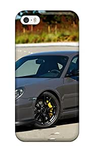Durable Defender Case For Iphone 5/5s Tpu Cover(porsche Gt3 Rs 34) by mcsharks