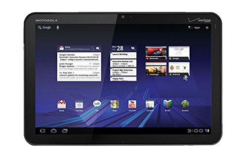 Motorola Xoom Mz602 32Gb  Wi Fi   3G   4G Lte Verizon 10 1  Tablet  Black  Non Retail Packaging