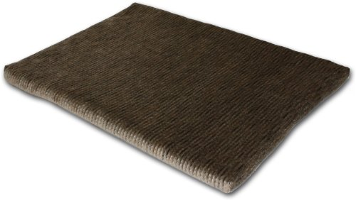 Fantasy Furniture Cozy Orthopedic Memory Foam Mat Chenille, 24 by 18-Inch, Brown, My Pet Supplies