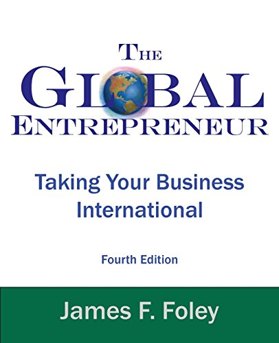 Pdf Money Global Entrepreneur 4th Edition: Taking Your Business International