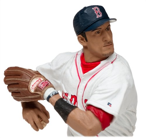 MLB Series 9 Figure: Nomar Garciaparra with White Boston Red Sox Jersey