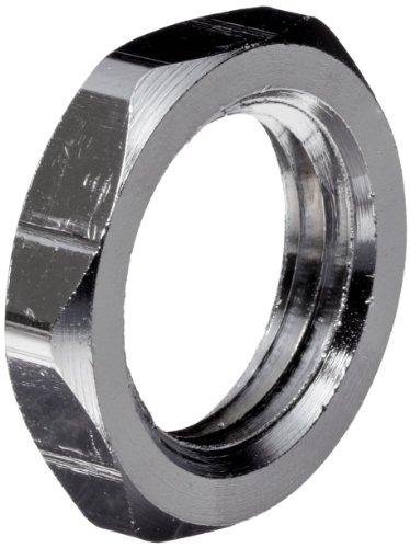 (Chrome Plated Brass Pipe Fitting, Locknut, 1/4