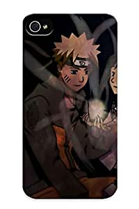 Snap-on Naruto And Hinata - Naruto Shippuuden Case Cover Skin Compatible With Iphone 4/4s