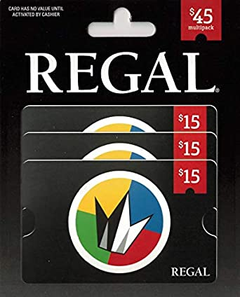 Regal Entertainment Group MP $45 Gift Card
