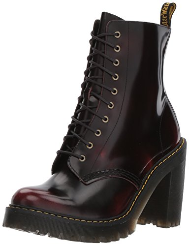 Dr. Martens Kendra, Bottes Classiques Femme, Red Rouge (Cherry Red 600)