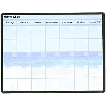 amazon com ocean monthly calendar memo board automotive