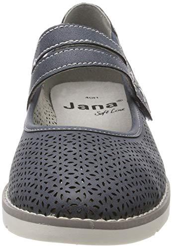 Jana Softline 8 jeans 22 Donna 846 Mocassini Blu 24662 8 4qqxwpS