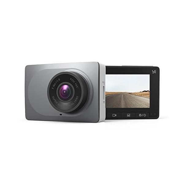 YI Smart Dash Cam, 2.7″ Screen 1080P60 Full HD 165 Wide Angle Front Dashboard...