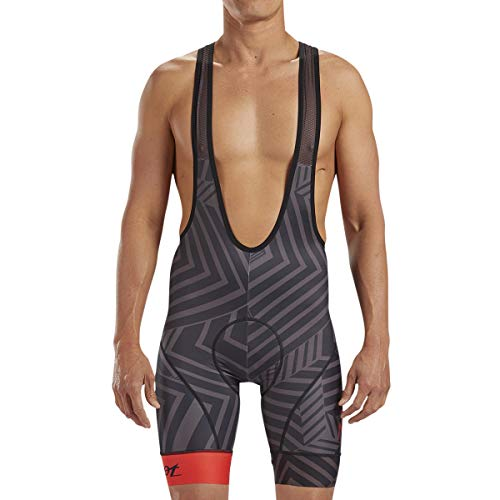Zoot Men's LTD 9-Inch Bib Cycling Shorts - Performance Cycle Shorts with TMF Chamois (Cali, Large) ()