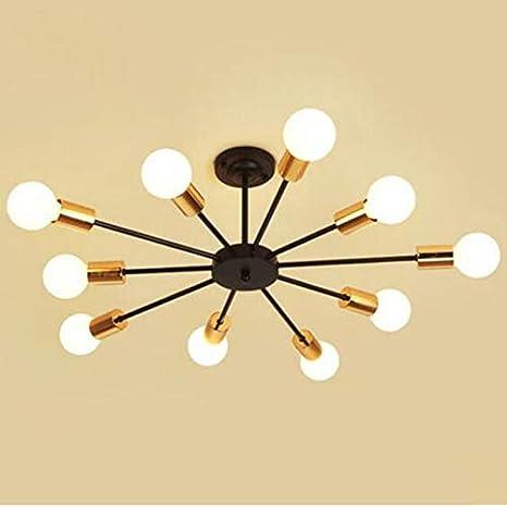 Moda lámparas modernas luces de techo LED iluminación ...