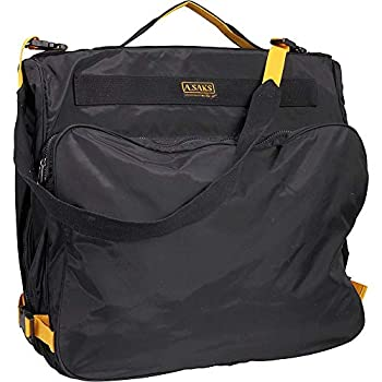 Image of A.Saks Expandable Deluxe Garment Bag (Black) Luggage
